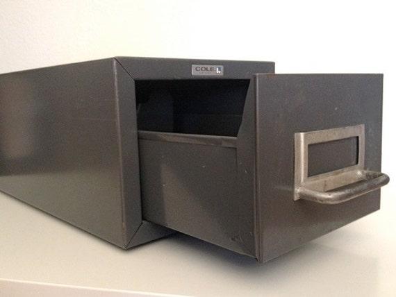 Industrial grey steel box