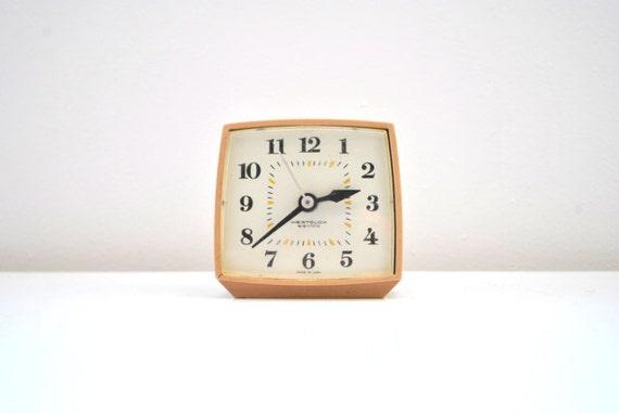 Small Westclox alarm clock