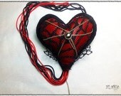 Adelaides Chained Heart Brooch