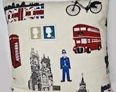 London Cushion Cover - size 40cm - UK Shop