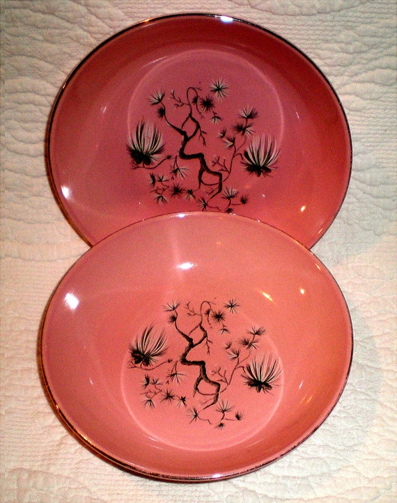 Taylor Smth and Taylor Dwarf Pine Bowls