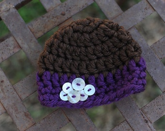 SALE Newborn Crochet Baby Hat