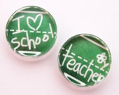 Teacher Glass Magnet, Teacher magnets, Fridge Magnets, Gift for teacher, school magnet