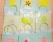Pastel Mini Paper Gift or Favor Bags