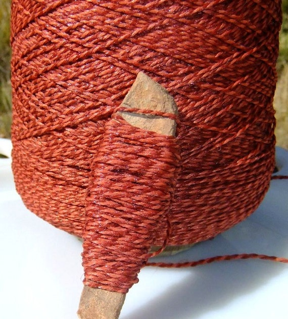 12 Yards of Brick Red Acrylic Craft Twine
