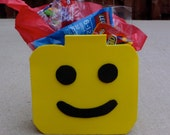 Block Head Party Favor Bags (Set of 10)