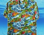 Button Up Tropical Shirt