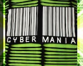 SALE % CYBER MANIA Cut Out T Shirt