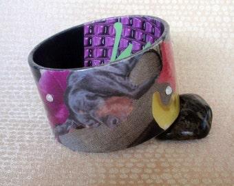 Custom Decoupage Bracelet / Bangle / Cuff