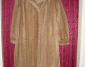 Faux Fur Mink Coat  Size 12