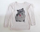 Meme drawing sweatshirt - off-white - Ladies M