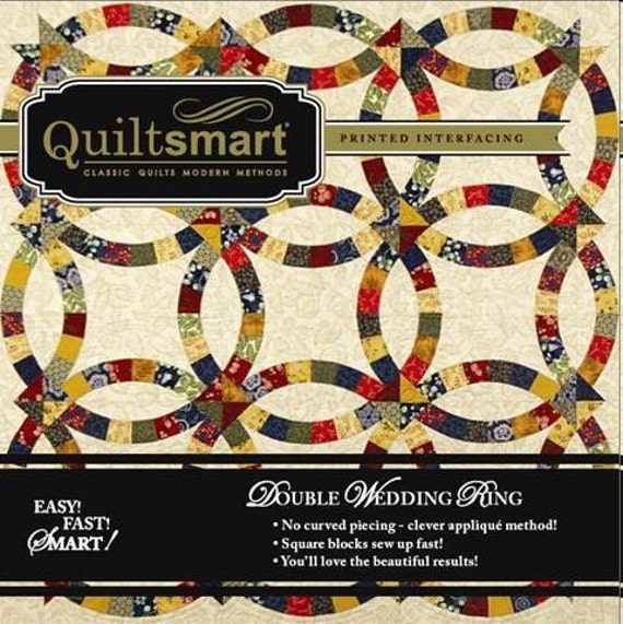 QuiltSmart Double Wedding Ring Snuggler By