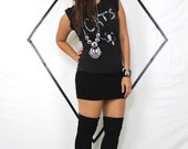 Vitage CATS shirt 80s grunge dance rock goth.