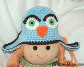 Cappellino Gufo per Neonato