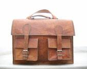 Leather Backpack cum Messenger Bag cum school bag cum office bag cum Laptop Bag