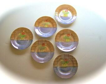 Set of 6 Tiny Japanese Dishes