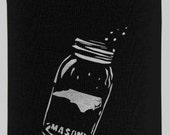 North Carolina Moonshine Mason Jar Can Koozie - 2 Pack