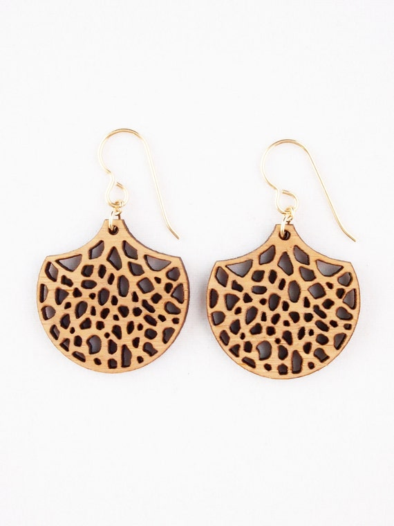 Branches & Roots, Laser Cut Earrings