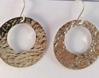 Sterling silver hoop earrings - item 18