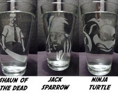 Geeky Glasses- 16 oz- Choose ANY Two Designs