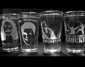 Set of 4 16 oz Arrested Development Glasses
