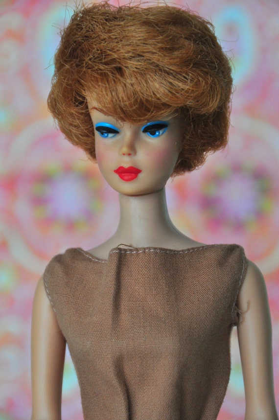 Vintage Red Head Bubble Cut Barbie