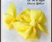 Classic Yellow Bow Set