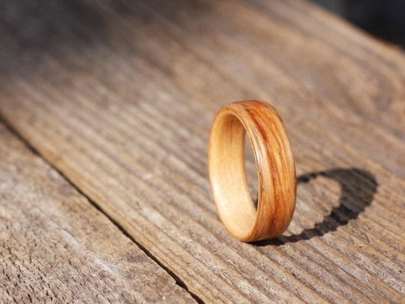 White Oak on Maple Bentwood Ring