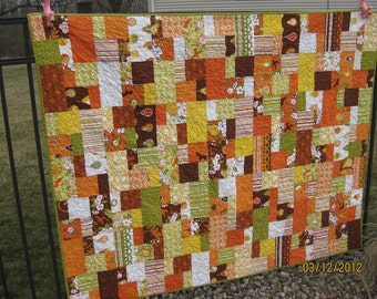 Modern Decadence Quilt - Pears and Birds