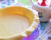Organic Gluten Free Whole Grain Deep Dish Double Crust Pie Pastry