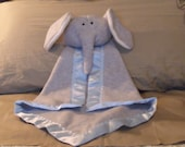 Elephant Security Blanket - Blanket Buddy