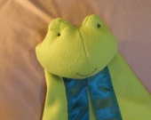 Frog Security Blanket - Blanket Buddy