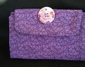 Purple Flash Drive Storage