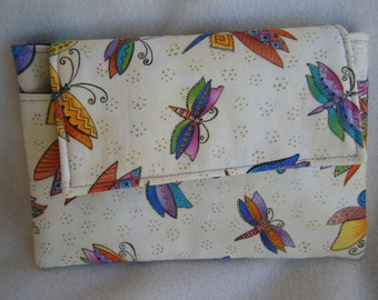 Kindle Sleeve in Butterfly Fabric - 100% HANDMADE