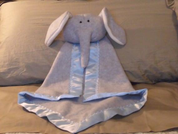 Elephant Security Blanket - Blanket Buddy