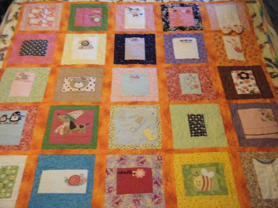 Memory Quilt - Reserved for Kirby