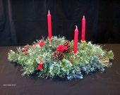 """Centerpiece """"Christmas Cardinal"""""""