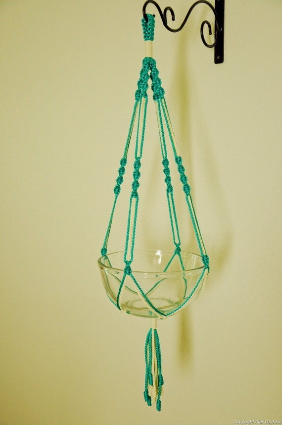 Items Similar To Hand Crafted Macrame Plant Hanger