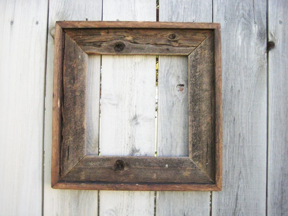Items similar to Rustic Reclaimed Wood Frame. Empty Wood Frame. Rustic Wood  Decor. Barn Wood Frame. Salvaged Wood Decor. on Etsy - Items Similar To Rustic Reclaimed Wood Frame. Empty Wood Frame