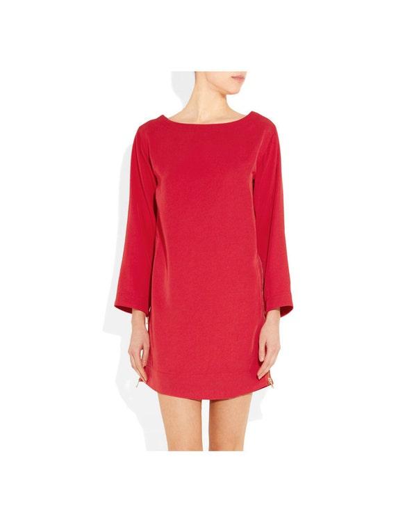 Lipstick Red Dress