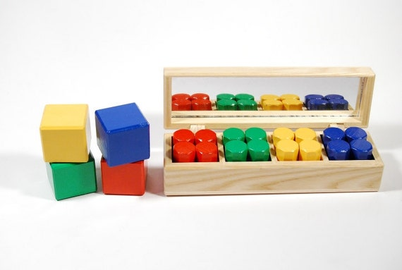 Francheska's educational wooden toy