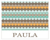 Printable 4X6 Personalized Notecard...by Party Like Paula