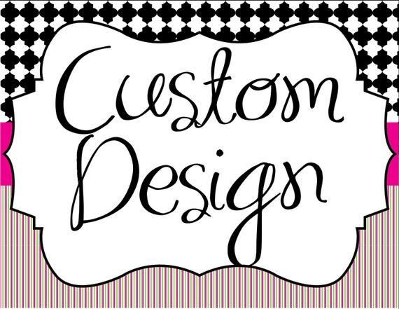 Custom Design...by Party Like Paula