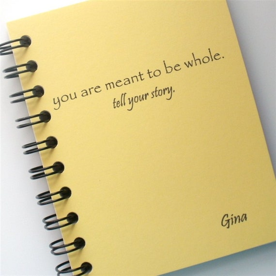 Tell your story journal