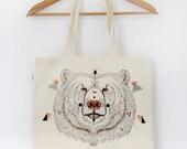 Organic Cotton Tote Bag URSUS // LAST ONE