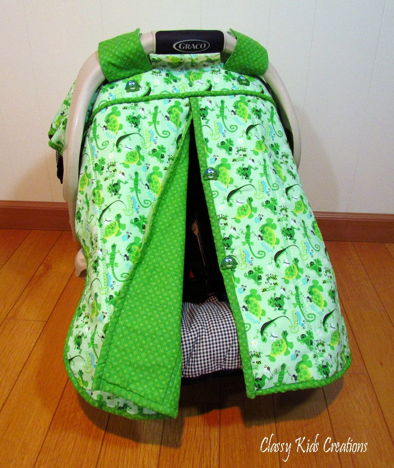 Baby Car Seat Canopy Blanket Car Seat By Classykidscreations