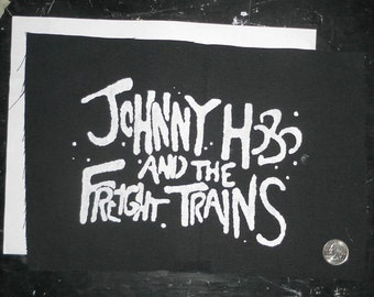 Johnny Hobo and the Freight Trains LARGE Patch
