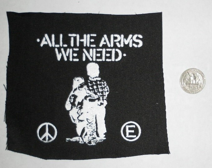 All The Arms We Need Patch - Flux of Pink Indians
