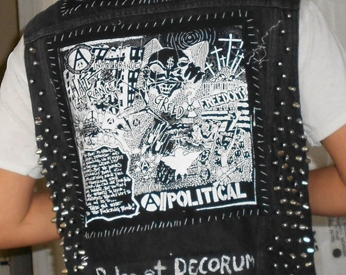 A//Political BackPatch (Mature)