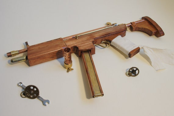 Steampunk Gun - Submachine Gun - Shrike Mk. IV